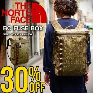 現品限り 送料無料 ザ・ノースフェイス THE NORTH FACE ベースキャンプ ヒューズボックス BC FUSE BOX (30L) NM81630 ザック スクエア型 バックパック リュックサック バッグ ザ ノースフェイス ヒュ
