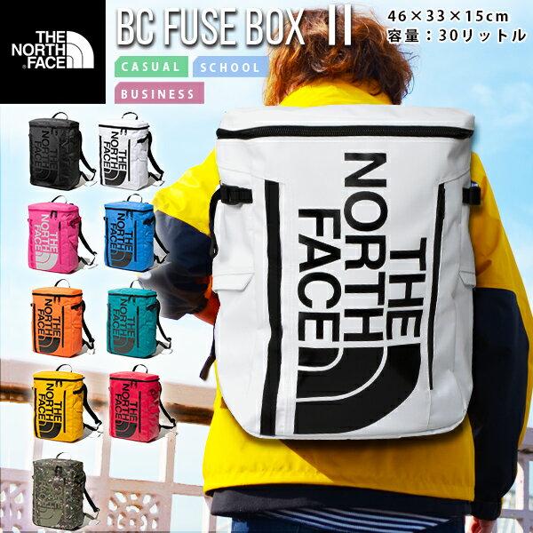 2020春夏新作 ノースフェイス 送料無料 THE NORTH FACE ベースキャンプ ヒューズボックス 2 BC FUSE BOX 2 NM82000 30L ザック バックパック リュックサック かばん スクエア型 メンズ レディース バッグ
