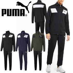 送料無料 プーマ ジャージ 上下セット PUMA メンズ TECHSTRIPE トレーニングスーツ セットアップ 上下組 スポーツウェア トレーニング ランニング ジョギング ジム ウエア 2021春新作 得割20 588976