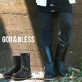 ����̵��God��BlessLEATHERENGINEERBOOTS��󥺥֥�å������åɥ֥쥹�쥶����󥰥��󥸥˥��֡���