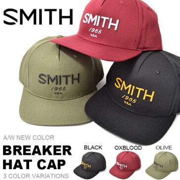キャップ SMITH OPTICS スミス BREAKER HAT CAP 帽子 スノボ スノーボード メンズ レディース 日本正規品 スキー