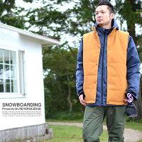 送料無料スノーボードウェア上下セットメンズベスト付きジャケット3Way取外し可能VestJacketスノーウエアスノーボードウエアスノボウエアSNOWBOARD