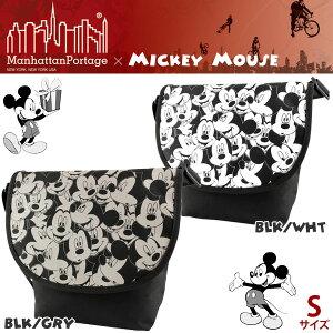 マンハッタンポーテージ ミッキー コラボ バッグManhattanPortage ミッキーマウス ショルダー ...
