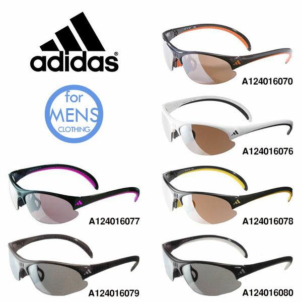 送料無料スポーツサングラスアディダスadidasメンズa124golfゴルフランニング釣りフィッシング自転車テニスサイクリング紫外線対策UVカット