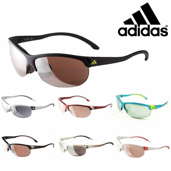 送料無料スポーツサングラスアディダスadidasレディースa171ADIZEROSランニングマラソンゴルフ釣り自転車テニスサイクリング紫外線対策UVカット