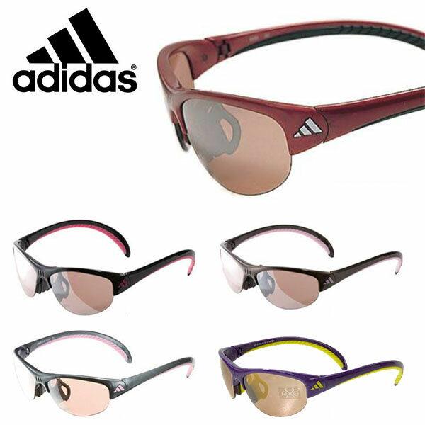 送料無料スポーツサングラスアディダスadidasレディースa129gazelleSランニングマラソンゴルフ釣り自転車テニスサイクリング紫外線対策UVカット