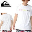半袖Tシャツ QUIKSILVER クイックシルバー メンズ MW DIVISION ST サーフ ロゴ プリント Tシャツ プリントTシャツ ロゴTシャツ 2019春夏新作 30%off