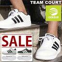 【得割41】 スニーカー アディダス adidas NEO ネオ TEAM COURT チームコート メンズ カジュアル シューズ 靴 AQ1289 AW4510 AW4525 AW4526 白 黒 ホワイト ブラック 【あす楽配送】