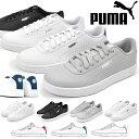 レザーでこの価格 スニーカー プーマ PUMA メンズ レディース プーマ コート ピュア COURT PURE ローカ