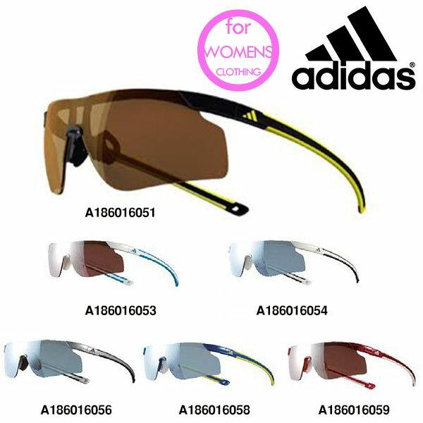 送料無料スポーツサングラスアディダスadidasレディースa186ADIZEROTEMPOSランニングマラソンゴルフ釣り自転車テニスサイクリング紫外線対策UVカット