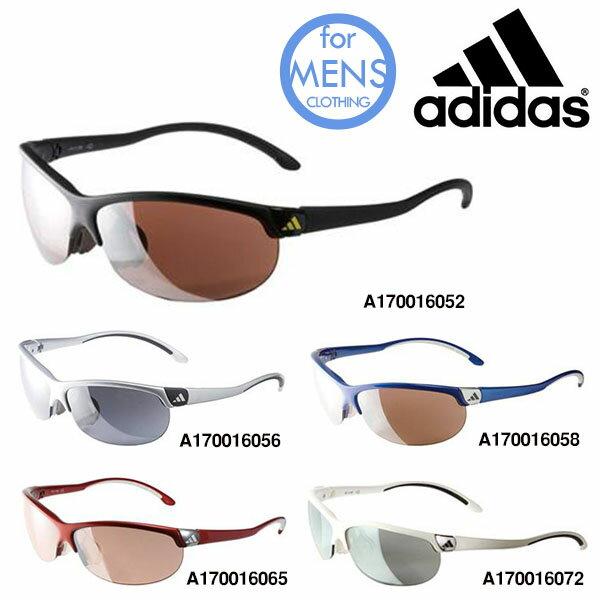 送料無料スポーツサングラスアディダスadidasメンズa170ADIZEROLランニングマラソンゴルフ釣り自転車テニスサイクリング紫外線対策UVカット
