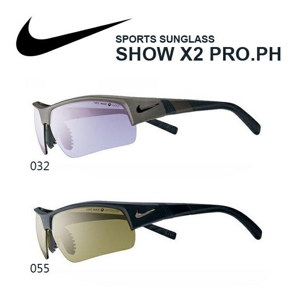 送料無料スポーツサングラスナイキNIKESHOWX2PRO.PHNIKEVISIONナイキヴィジョンゴルフランニングテニスサイクリング自転車紫外線対策UVカット