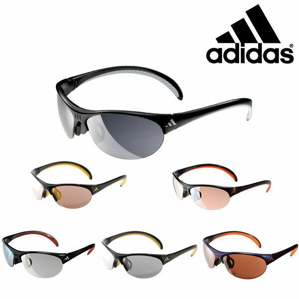 送料無料スポーツサングラスアディダスadidasメンズa123GAZELLELランニングマラソンゴルフ釣り自転車テニスサイクリング紫外線対策UVカット