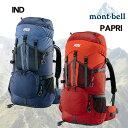 モンベル mont-bell バッグパック送料無料 チャチャパック 30 ショ-ト バッグパック mont-bell ...