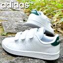 送料無料 アディダス ベルクロ スニーカー メンズ レディース adidas ADVANCOURT BASE VELCRO U アドバンコート ベルクロ カジュアル シューズ 靴 ホワイト 白 202