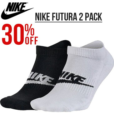 2足組みソックス ナイキ NIKE NSW グラフィック 2PPK クォーター ソックス メンズ レディース 靴下 スポーツ カジュアル 2足セット 30%OFF