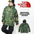 送料無料 スノーボード ウエア THE NORTH FACE ザ・ノースフェイス メンズ Brogoda Insulated Jacket ブロゴダインシュレイテッド ジャケット ハイベント スキー バックカントリー 25%off