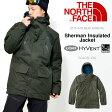 送料無料 スノーボード ウエア THE NORTH FACE ザ・ノースフェイス メンズ Sherman Insulated Jacket シャーマンインサレーテッド ジャケット ハイベント スキー バックカントリー 25%off