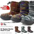 送料無料ヌプシブーツザ・ノースフェイスTHENORTHFACEWNuptseBootieWoolIILuxeWヌプシブーティーウールIIラックスレディースブーツアウトドアスノーシューズ靴NFW51684ザノースフェイス2016秋冬新作