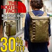現品限り 送料無料 ザ・ノースフェイス THE NORTH FACE ベースキャンプ ヒューズボックス BC FUSE BOX (30L) NM81630 ザック スクエア型 バックパック リュックサック バッグ ザ ノースフェイス ヒューズボックス 30%off