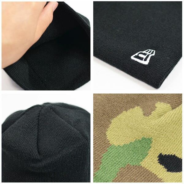 ゆうパケット対応可能!ニット帽ニューエラNEWERABasicBeanieビーニーニットキャップメンズレディースロゴキャップ帽子ベーシックスノーボードスケートボードスノボ