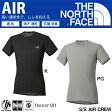 THE NORTH FACE ノースフェイス S/S AIR CREW ショートスリーブ エアー クルー (メンズ) NU65116 アンダーウェア 半袖 丸首 Tシャツ インナーシャツ