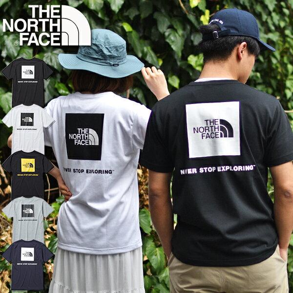 ノースフェイスTシャツメンズ半袖生地厚THENORTHFACEショートスリーブバックスクエアロゴティーS/SBackSquare