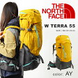 送料無料 大容量56リットル リュックサック ノースフェイス THE NORTH FACE W TERRA 55 ウィメンズ テラ55 レディース バックパック リュック アウトドア ザック 登山 NMW61403 20%off
