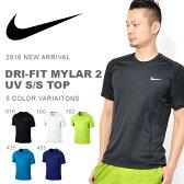ナイキ NIKE ドライフィット マイラー2 UV ショートスリーブ トップ メンズ 半袖 Tシャツ トレーニングシャツ ランニングシャツ スポーツウェア ランニング ジョギング ジム 30%off