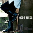 ����̵��!!��󥰥��󥸥˥��֡��ĥ�󥺥�ǥ��������åɥ֥쥹9810God��BlessFAKELEATHERENGINEERBOOTS��󥰥֡��ĥ��󥸥˥��֡��ġڤ�����������