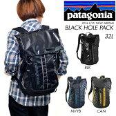 送料無料 バックパック patagonia パタゴニア Black Hole Pack 32L メンズ レディース リュックサック デイパック バッグ 耐水 アウトドア 通勤 通学 国内正規品 49331