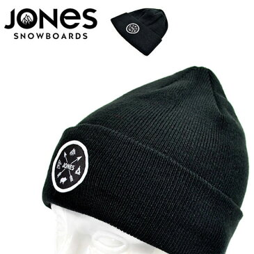 ゆうパケット対応! ニット帽 JONES ジョーンズ JONES SHANGRI LA ロゴ ビーニー 帽子 ニットキャップ スノーボード スノボ スキー メンズ レディース ユニセックス 得割20