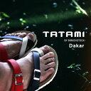 送料無料 現品限り【得割41】TATAMI タタミ BY BIRKENSTOCK メンズ レディース ダカール サンダル Dakar 国内代理店正規品 ビルケンシュトック