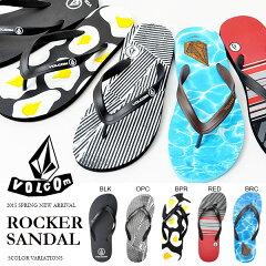 ビーチサンダル VOLCOM ボルコム Rocker Sandal メンズ サンダル ビーサン サーフ ビーチ 海 海水浴 プール 2015春新作 V0811525