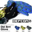 送料無料 スノーグローブ デフコン DEFCON DBLBRRL GLOVE メンズ 手袋 グローブ 手ぶくろ スノー スノーボード スノボ スキー 得割30