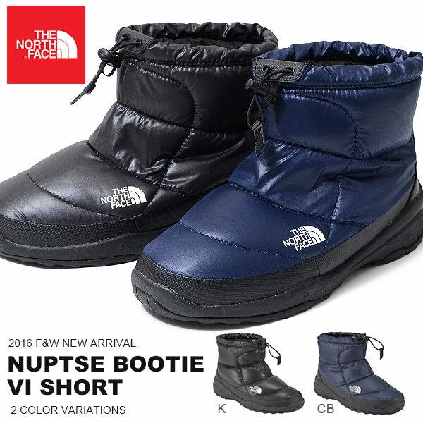 現品限り送料無料ザ・ノースフェイスTHENORTHFACENuptseBootieVIShortヌプシ650フィルダウンブーティー6ショートブーツレディースブーツアウトドアスノーシューズ靴NF51588ザノースフェイス2016秋冬新色20%off