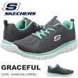 スニーカー スケッチャーズ SKECHERS レディース グレースフル GRACEFUL シューズ 靴 メモリーフォーム 2017春夏新作 得割20