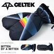 送料無料 CELTEK セルテック グローブ ミトン BITTEN BY A MITTEN X PINK FLIYD メンズ スノーボード スノボ スノー スキー 国内正規品 手袋 【得割50】