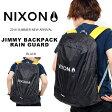 レインカバー NIXON ニクソン JIMMY BACKPACK RAIN COVER ロゴ バックパック ザック カバー リュックカバー 雨具 アウトドア 登山 トレッキング ストリート スノーボード スノボ スケートボード
