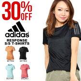アディダス adidas RESPONSE 半袖 Tシャツ W レディース ランニング ジョギング マラソン ウェア 2017春新作