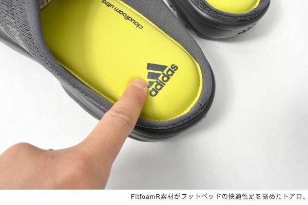 スポーツサンダル送料無料超快適クロッグアディダスadidasトアロメンズレディーススリッポンサンダルスニーカーシューズ靴AQ4926BB1352