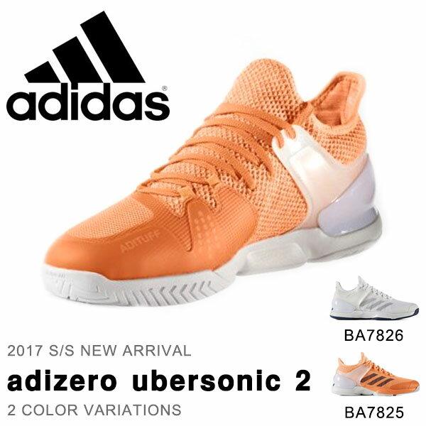 送料無料 テニスシューズ アディダス adidas メンズ ウーバーソニック 2 オールコート…