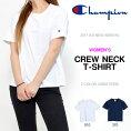 半袖TシャツチャンピオンChampionレディースCREWNECKT-SHIRTクルーネックワンポイント2017春夏新作CW-K322