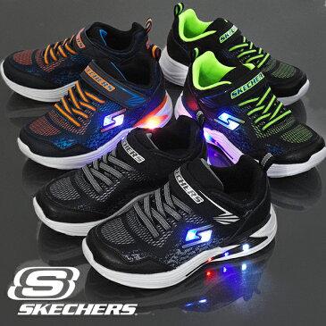 光る靴 キッズ スニーカー スケッチャーズ SKECHERS エスライツ エラプターズ 3 デルオ ベルクロ シューズ 靴 男の子 子供 ボーイズ ライトアップシューズ S LIGHTS Sライツ 90563L 2020春新作 得割20