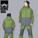 送料無料 スノーボードウェア ROME SDS ローム DSK JACKET メンズ ジャケット スノボ スノーボード スノー...