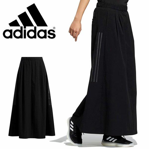 ボトムス, スカート  adidas W TECH LONG SKIRT 3 2021 10 JIJ77