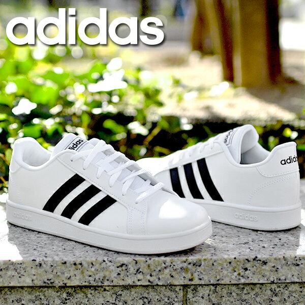 レディース靴, スニーカー  adidas GRANDCOURT K 3 EF0102 EF0103 EG5136