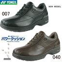 送料無料 ウォーキングシューズ パワークッション MC41 YONEX ヨネックス ウォーキング シューズ メンズ 靴 得割22