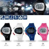 小さくて軽い 簡単な操作で使える ランニングウォッチ アシックス asics メンズ レディース デジタル 時計 腕時計 ランニング ジョギング AR09