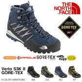 送料無料 悪天候に強いGORE-TEX 軽量防水 アウトドア ブーツ ザ・ノースフェイス THE NORTH FACE ヴェルト S3K II ゴアテックス Verto S3K II GORE-TEX メンズ Vibram Sole